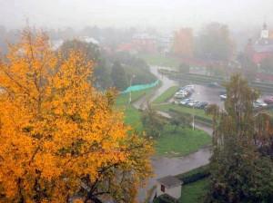 Виды Коломны дождь