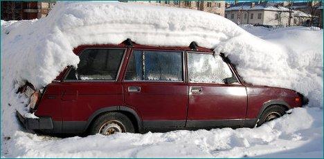 Уборка снега в Коломне