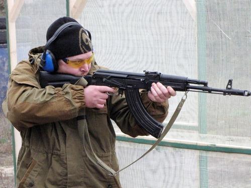 Чемпионат России по практической стрельбе из карабина 2012г.