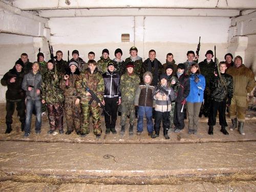 Военно-спортивная игра «Зарница 2012»