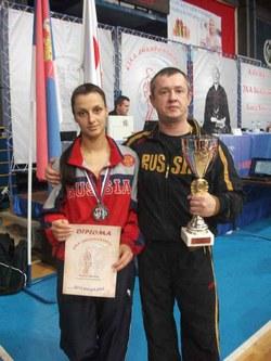 Анна Трафимова – бронзовый призёр Чемпионата Европы