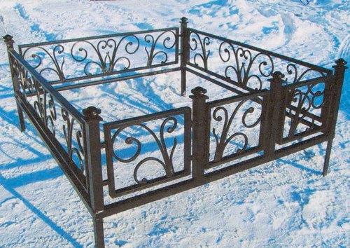 Коломна. Кладбище. Зима
