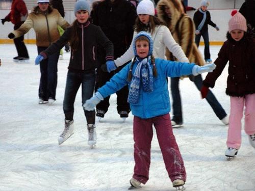 Массовые катания в Коломне на коньках