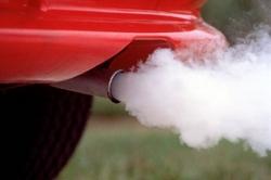 загрязнение воздуха, автомобиль