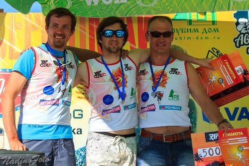 Коломенцы приняли участие и стали призерами I этапа кубка России по кайтсерфингу