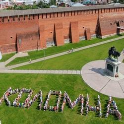 Жители Московской области «обняли» Коломенский кремль