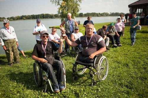 """Конкурс среди инвалидов с нарушениями опорно-двигательного аппарата """"Подмосковный карп"""""""