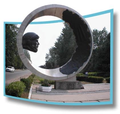 Памятники космонавтам в порядке везде, кроме Звездного городка