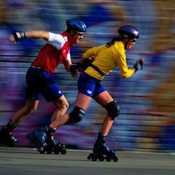 Роликобежный спорт в Конькобежном центре Московской области «Коломна»