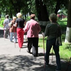 Проводится набор в группу скандинавской ходьбы