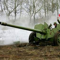 Коломенские артиллеристы провели показательные стрельбы