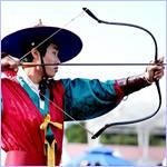 Восьмой международный фестиваль по стрельбе из традиционного лука в Корее