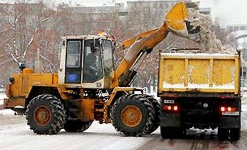 Минэкологии области обратилось к МинЖКХ за помощью в организации вывоза снега
