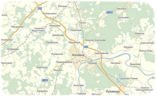 В Коломенском районе планируется объединение поселений