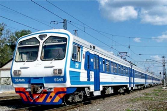 Коломна электричка экспресс ж/д поезд