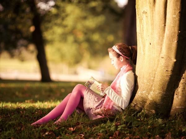 Почитать на свежем воздухе