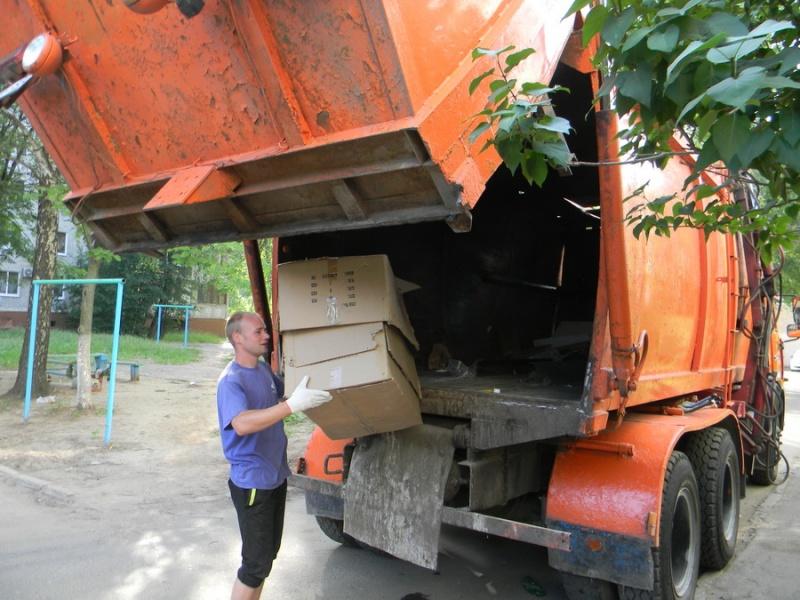 МУП «Спецавтохозяйство»: вывоз крупногабаритных отходов