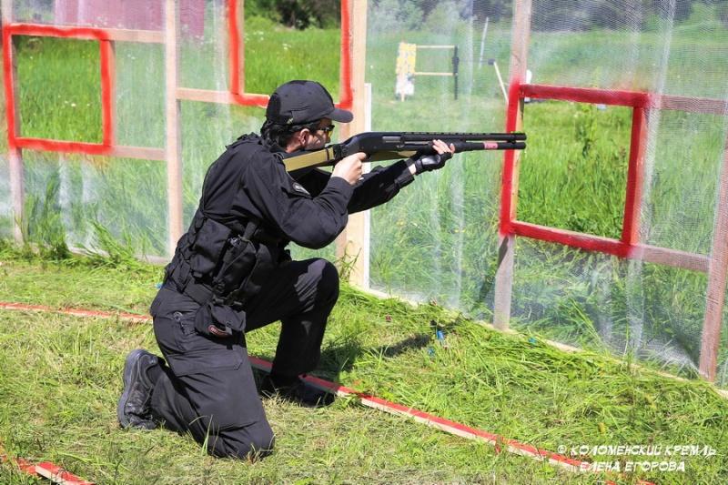 Чемпионат Коломны по практической стрельбе из гладкоствольного ружья