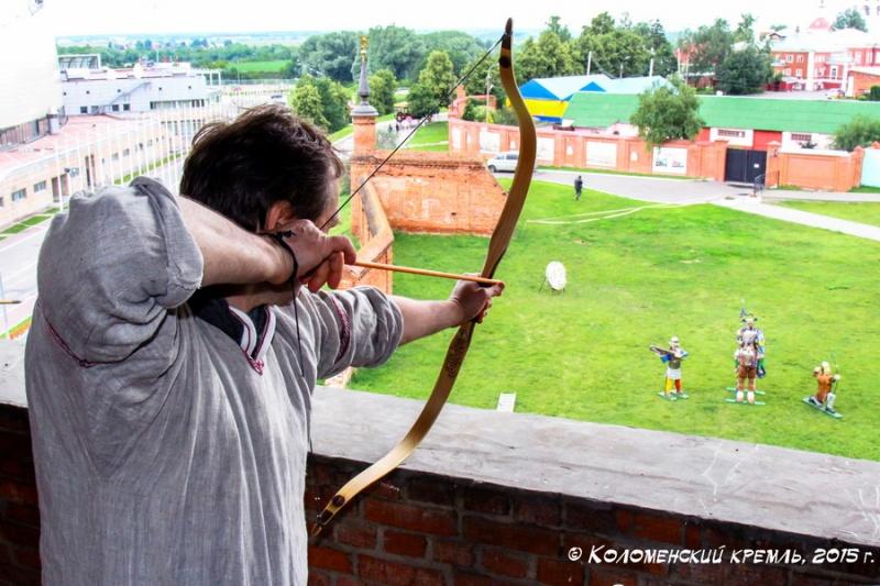 VIII Открытый межрегиональный турнир по традиционной и исторической стрельбе из лука «Коломенский кремль 2015»