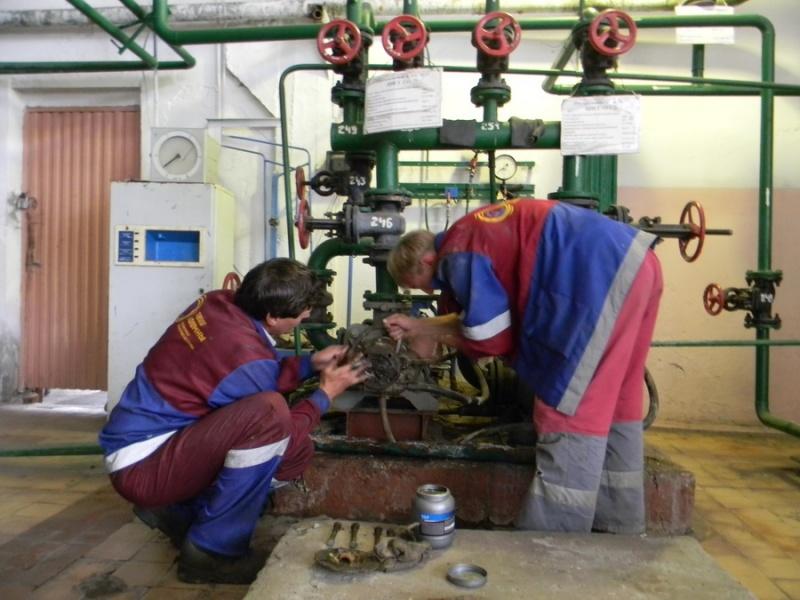 Котельная № 2 в Колычево встала на планово-профилактический ремонт