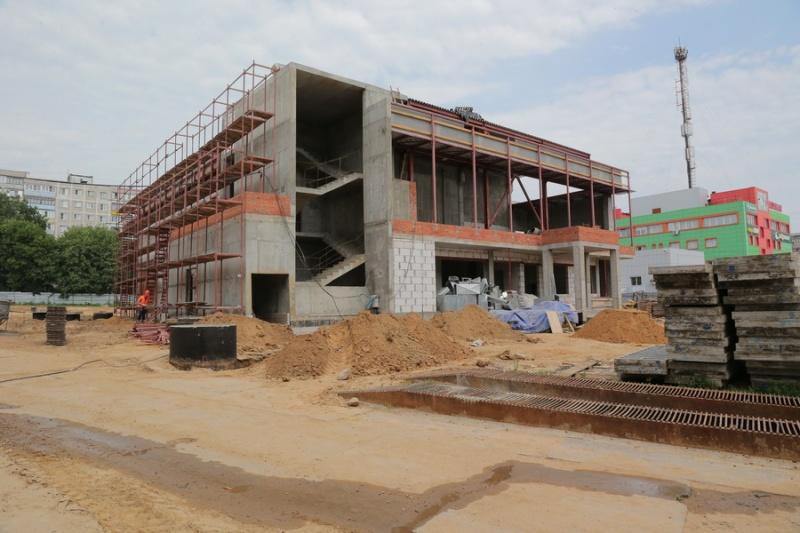 Строительство физкультурно-оздоровительного комплекса – на личном контроле руководителя администрации города