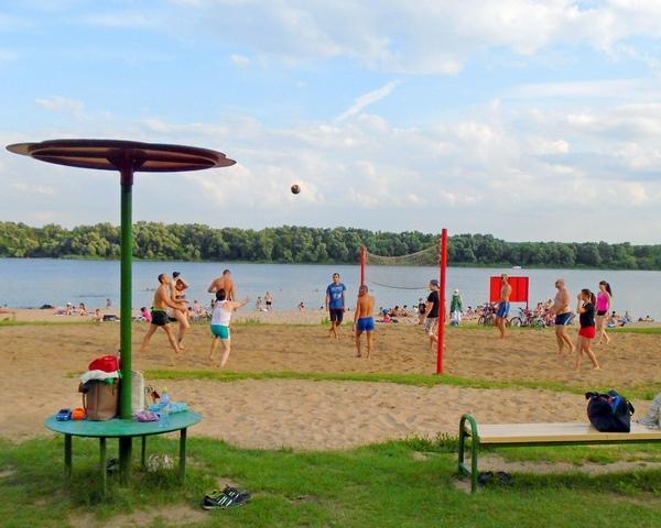 Коломна пляж бочманово волейбол