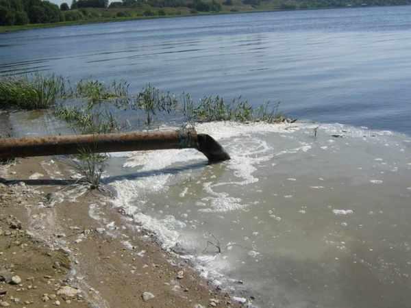 Коломна река слив сток канализация