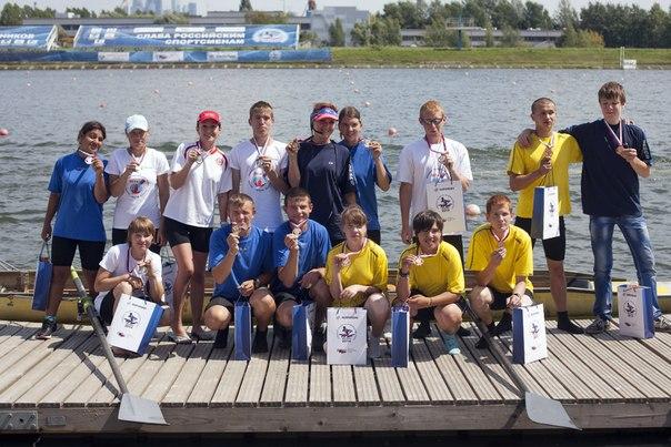 На чемпионате России по пара гребле в классе четверок с рулевым ментальных инвалидов все призовые места заняли коломенские спортсмены