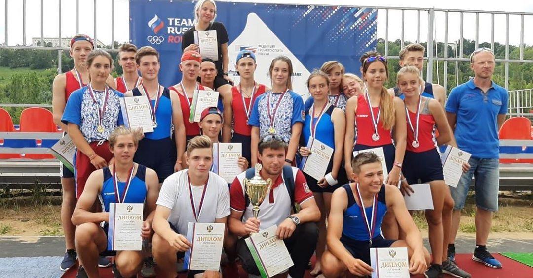 Спорт в Коломне: 24-27 июля 2019 года в г. Нижний Новгород прошло Первенство России по академической греб…