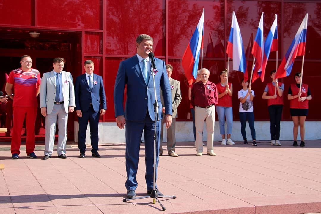 Мэр Коломны: Сегодня в России отмечается День государственного флага. Каждый цвет российского трик… #Коломна