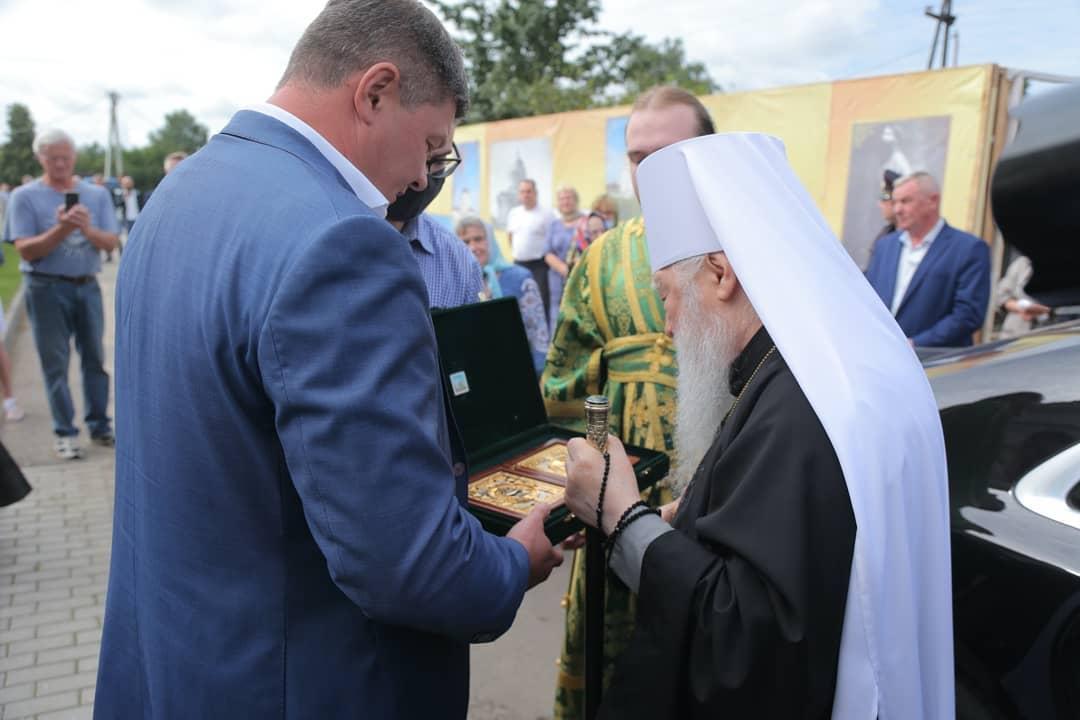 Мэр Коломны: Сегодня во всех православных храмах отмечают День обретения мощей Серафима Саров… #Коломна