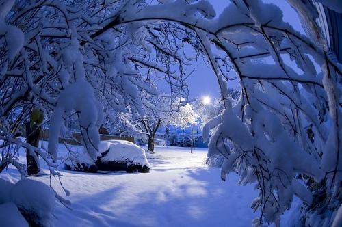 Коломна, снег